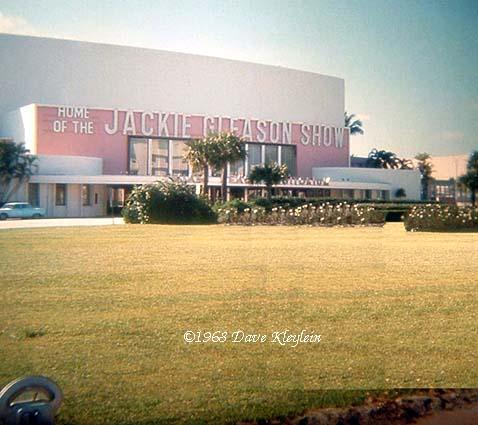 1968 Miami Beach Auditorium Home Of The Jackie Gleason Show On