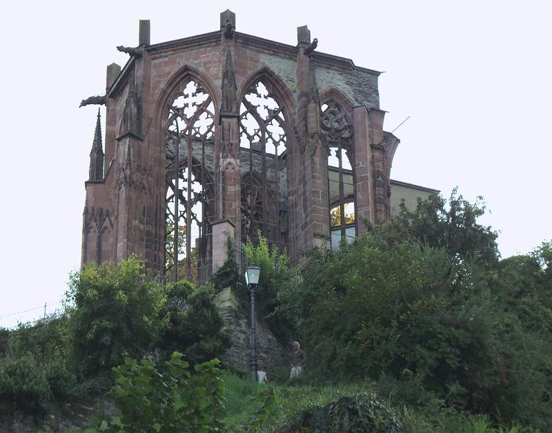 RUINS OF THE WERNER CHAPEL