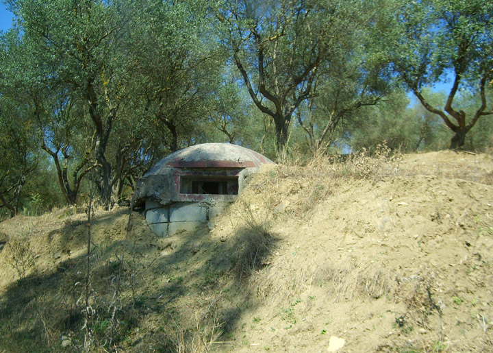 the ever-present bunkers of albania