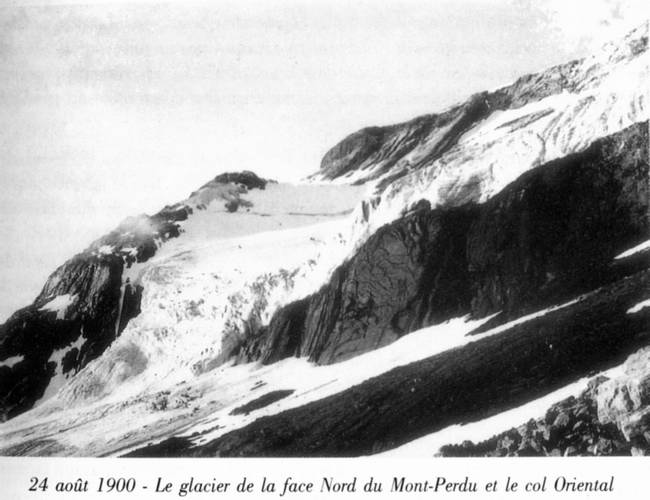 1900 : Mont Perdu, face nord