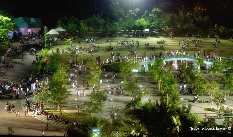 Aerial view, People's Park © Jojie Alcantara