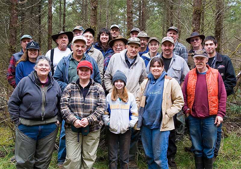 Burnt Ridge Trail Crew, 3-18-06