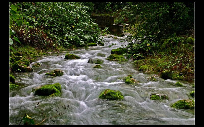 ... Running water ...