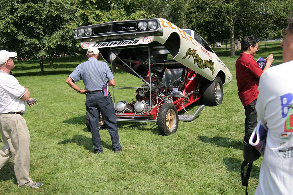 Dodge Challenger Dragster