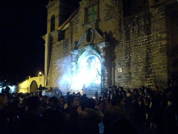 Semana Santa processions Ayacucho