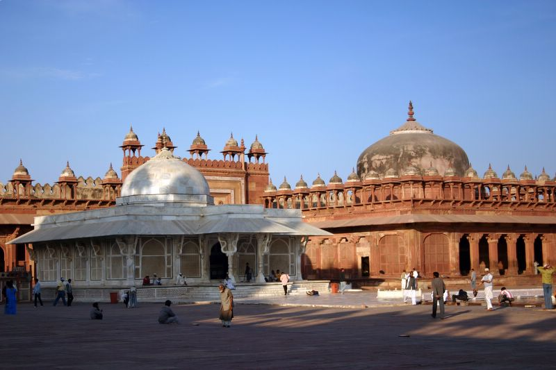 Mosque, Fatehpur Sikri, India
