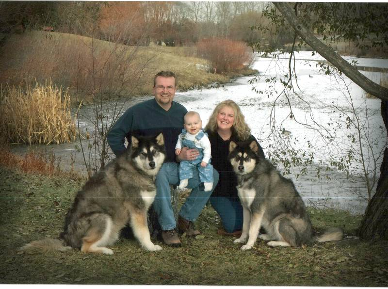 Susie Pierson (nee Bolton) and family