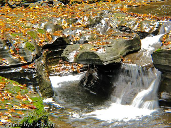 Hanging Rock Falls - Watkins Glen State Park