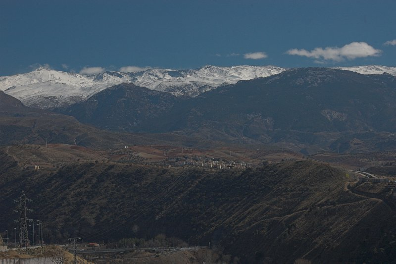 Granada and Sierre Nevada in the background