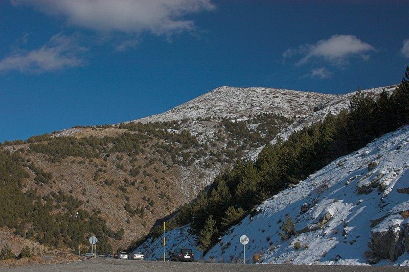 Ski resort at Sierre Nevada