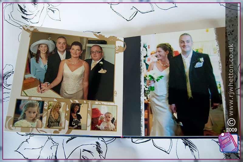 Graphi Studio Wedding Album from Robert Whetton, Dorset Photographer