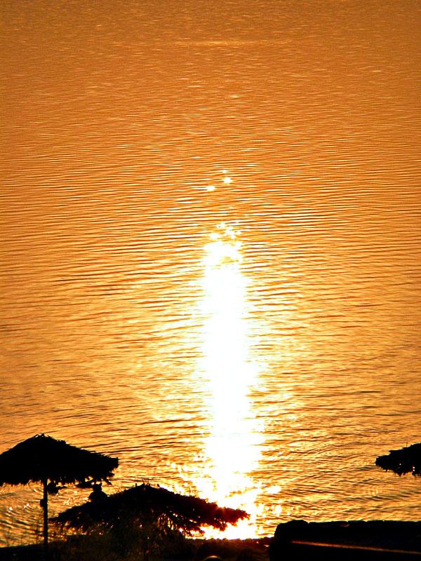 Sunset on the Dead Sea