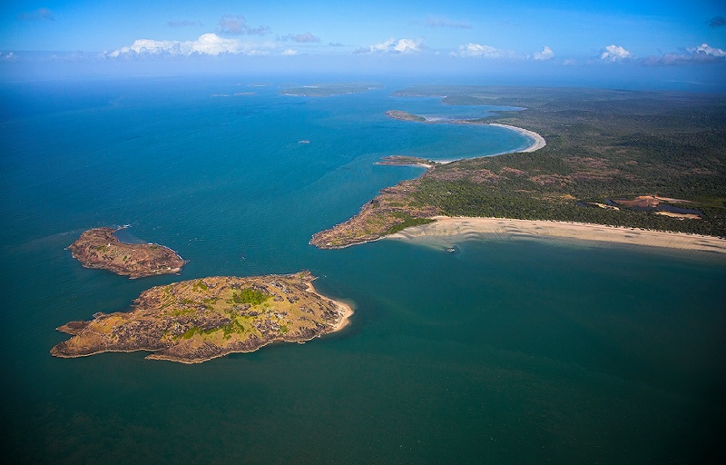 The tip of Cape York and York island