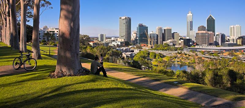Kings Park Panorama View