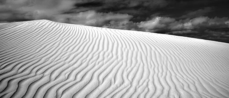 Lancelin Sanddunes Black & White