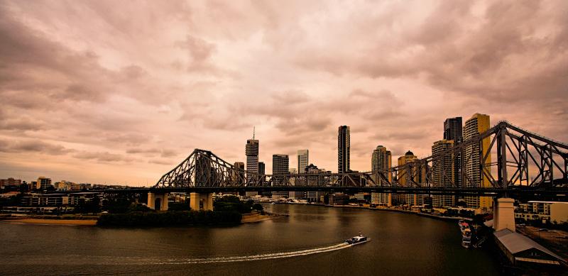Storm approaching Brisbane