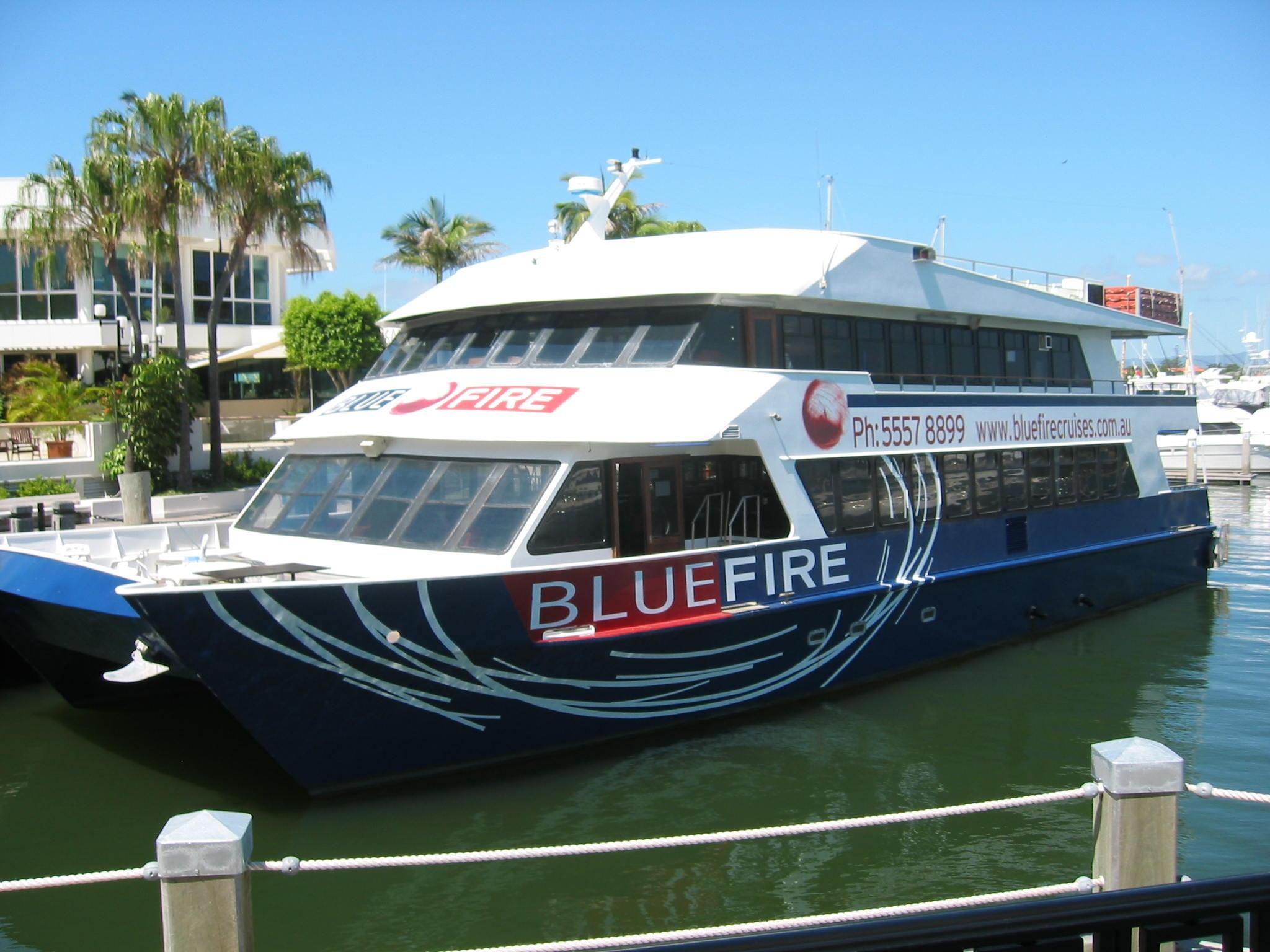 Blue Fire Gold Coast Australia