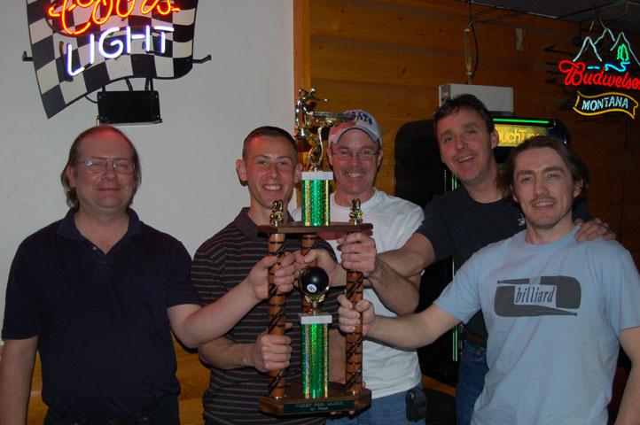 Lucky Cuss #1 - League Champions Gary Schram, Travis Stewart, Dan Reeves, Mike Hughes, Jamey Lewis