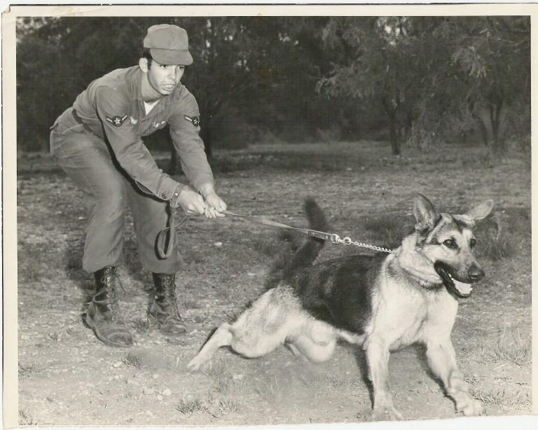 Warren Maynard - April 1971 - training MWD Cesoy