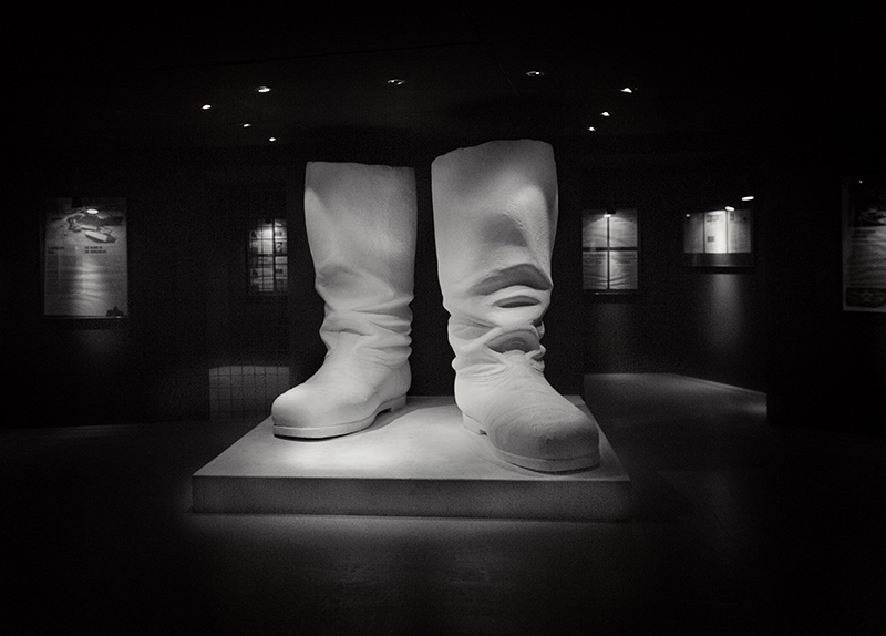 Joseph Stalins boots, model