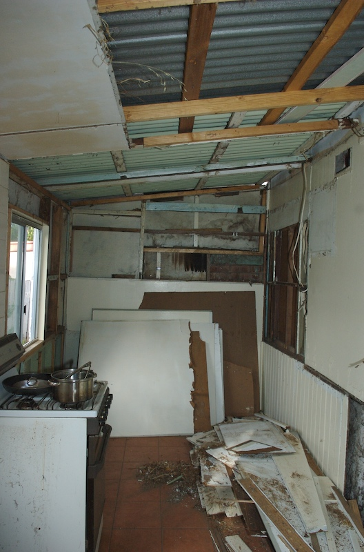 further work on the kitchen