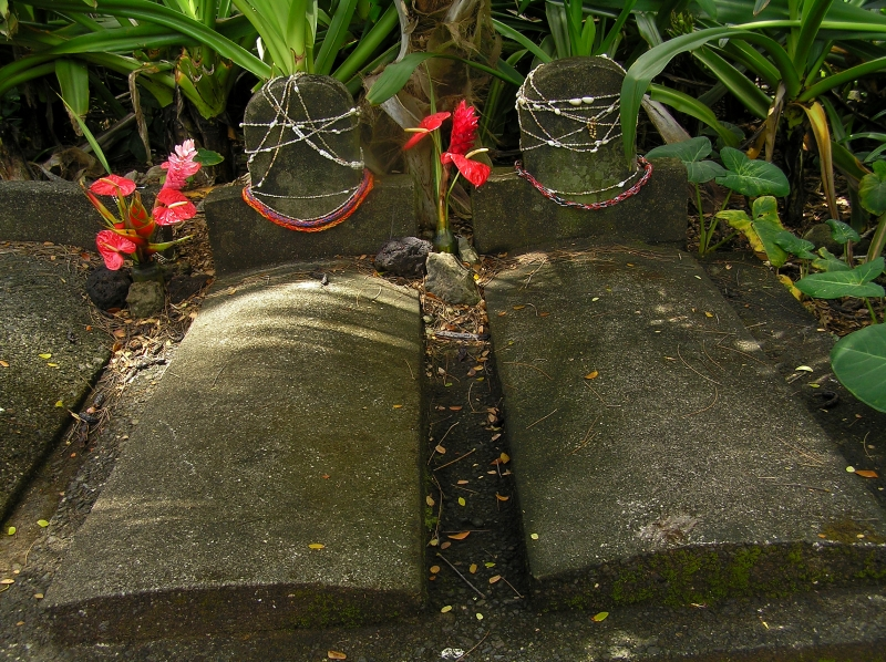 Graves of original property owners