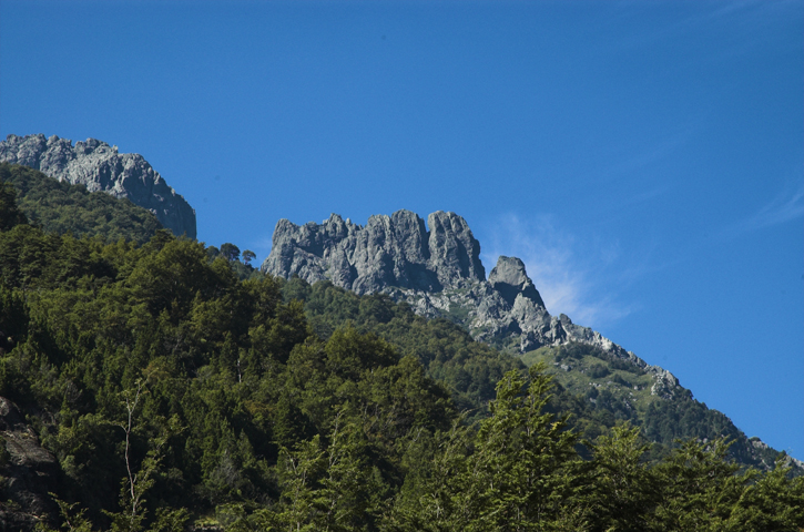 Majestic stone castellos...