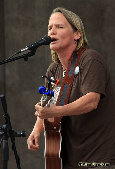 Local activist singer-songwriter Sherri Quammen