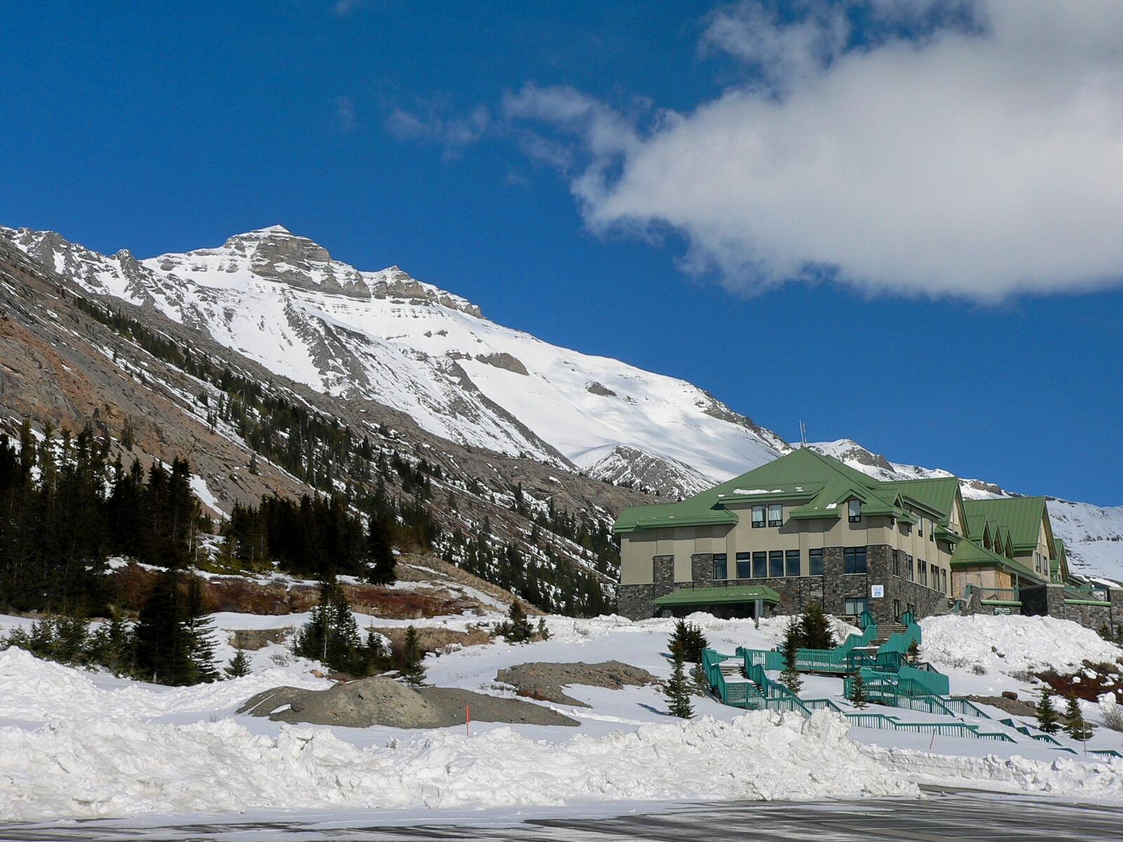 Icefield centre