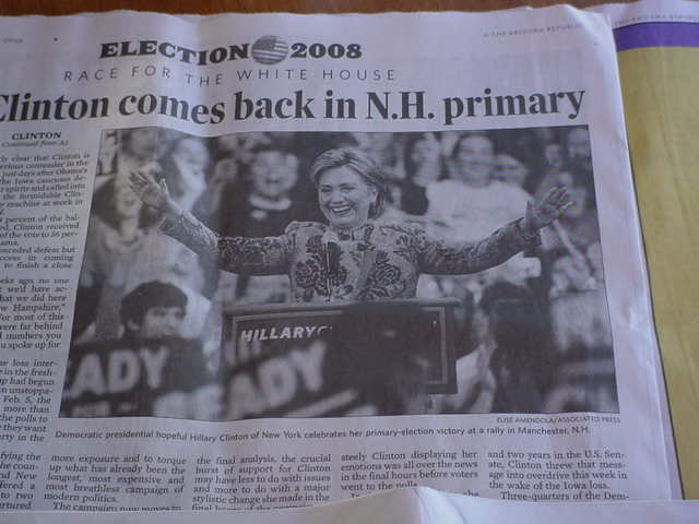 Clinton in N.H.