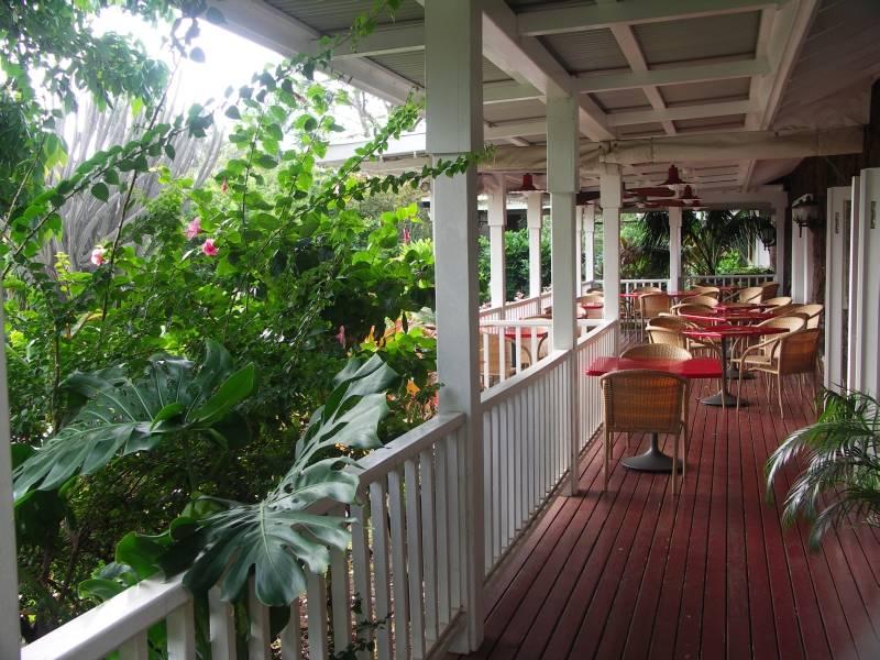 Veranda at Outrigger Hotel,  Kiahuna Kauai