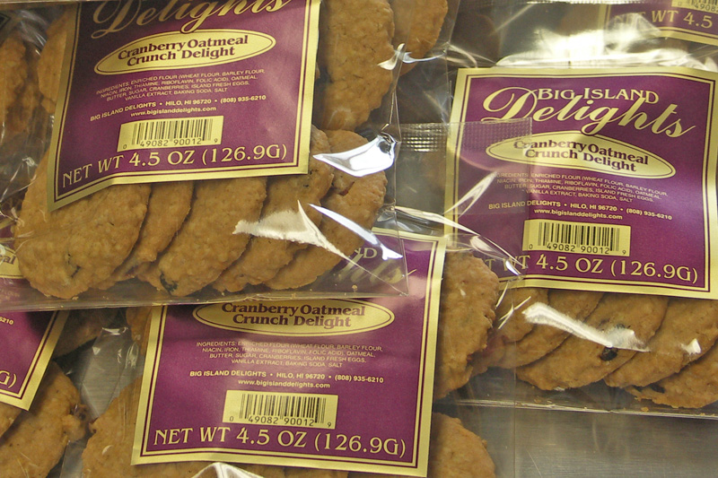 Big Island Delights, Candies and Cookies