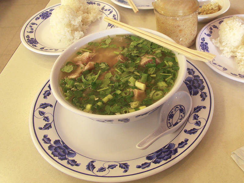 Ox Tail soup at Kamehameha Bowl