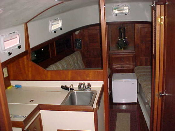 cabin from companionway
