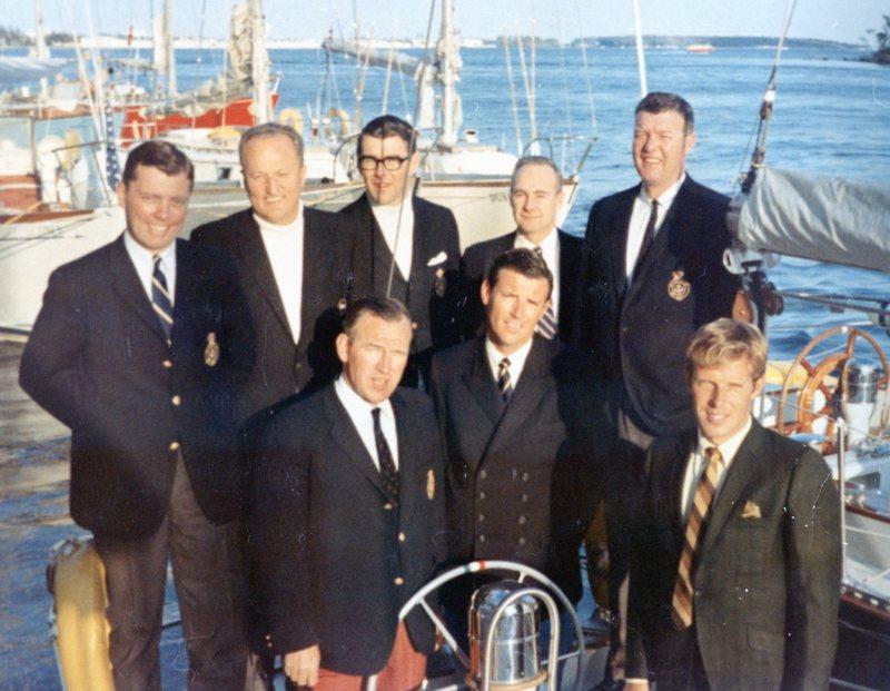 1967 SORC crew, RED JACKET, 40 C&C custom , built by Bruckmann