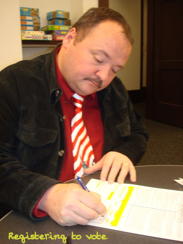 registering to vote in America