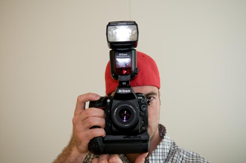 Nikon D700 with SB-900