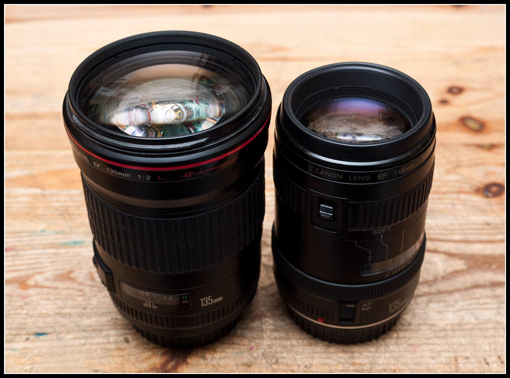 Canon 135mm F2 Wedding Photography: Lens Bubbles: Canon EF 135mm F2.8 Soft Focus