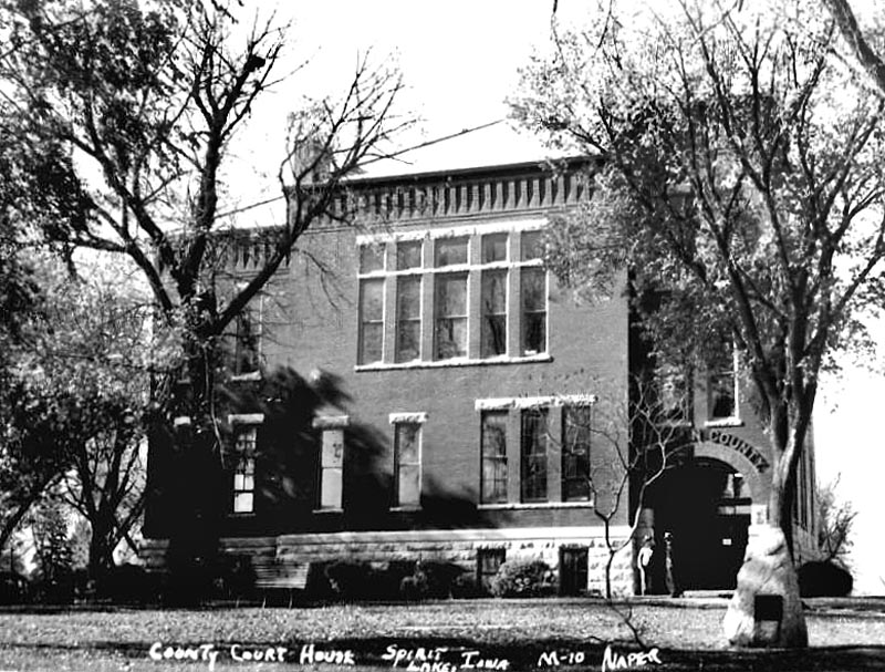 Dickinson Co. Courthouse 1950