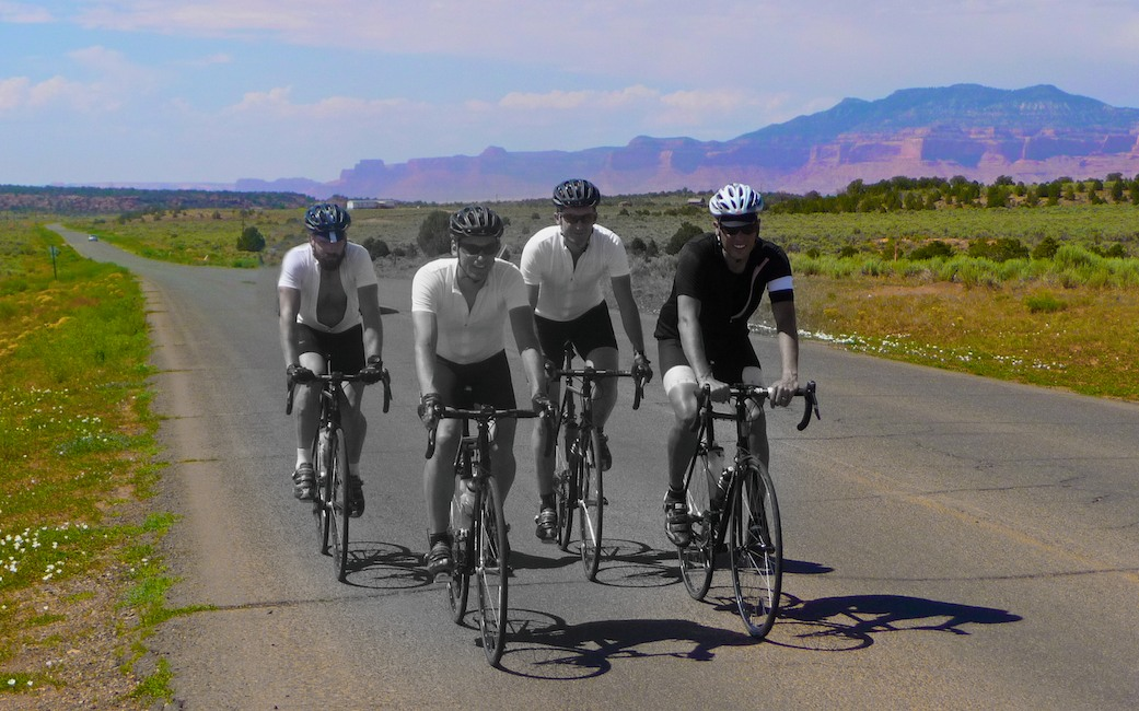 Riding with Members of the Rapha Continental Team