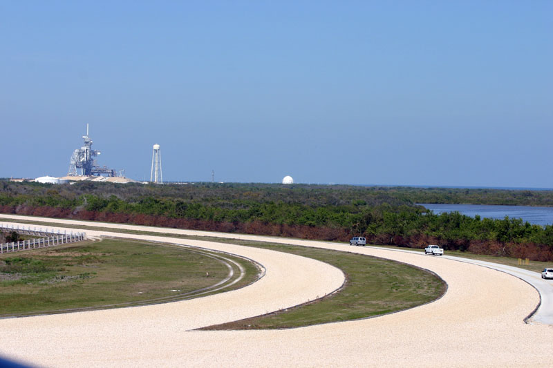 The infamous 8mile track to the Launch Pad