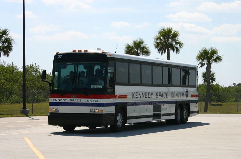 A Space Shuttle Bus!