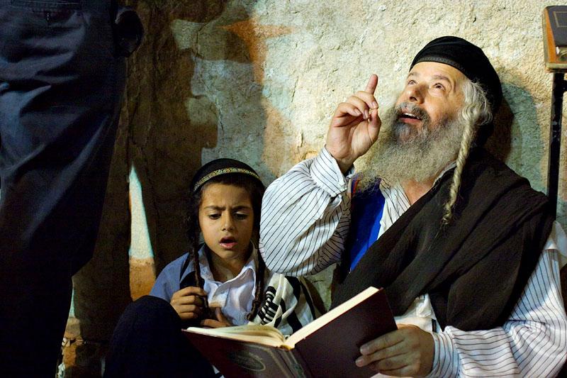 Learning to pray - Jerusalem