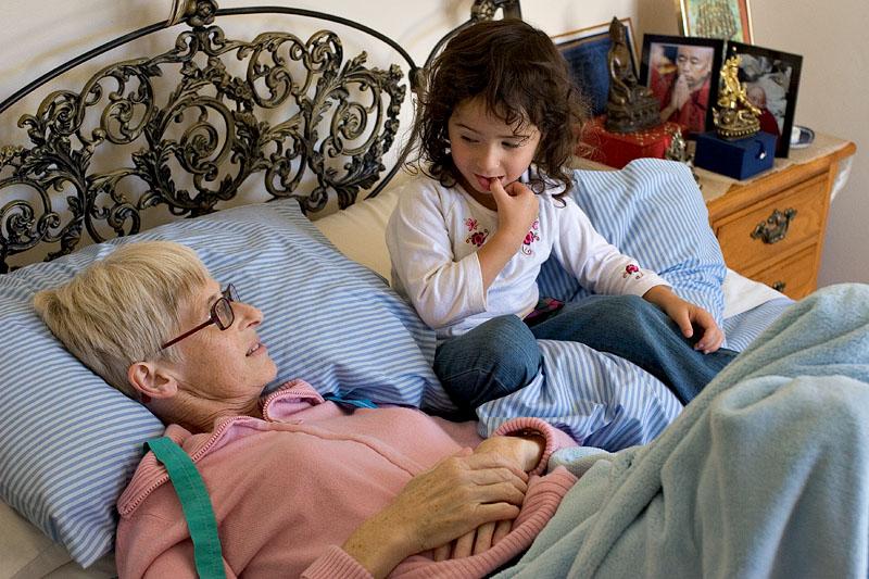 Mum and Ashley