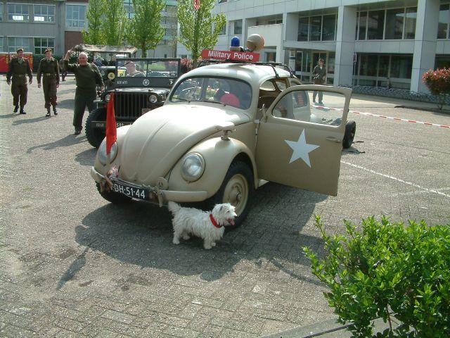 Volkswagen met alarm
