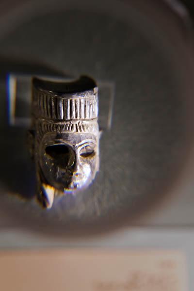 Ivory Goddess Head