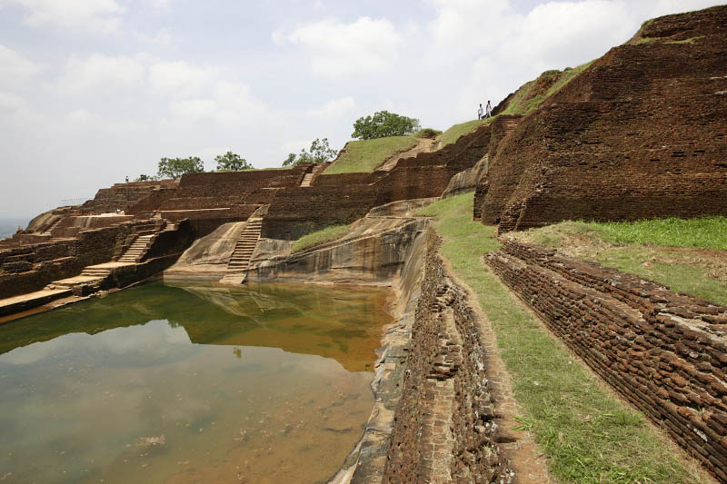 Sigiriya, the fourth terrace