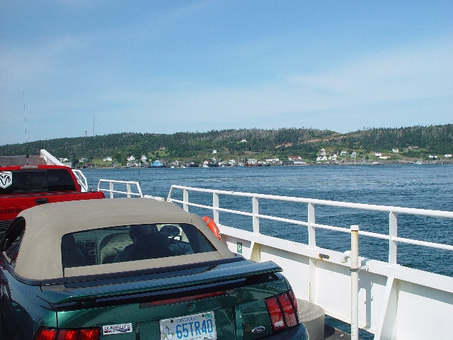 THIS WAS ONE OF THE TWO FERRIES USED TO GET TO THE WHALE WATCH AT BRIERS ISLAND