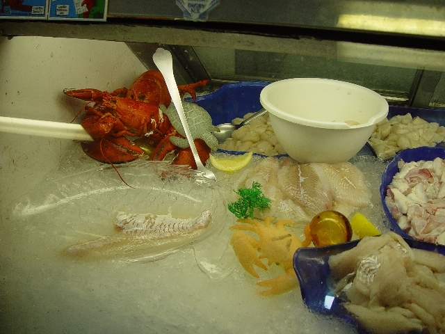 IT IS A SEAFOOD LOVERS PARADISE