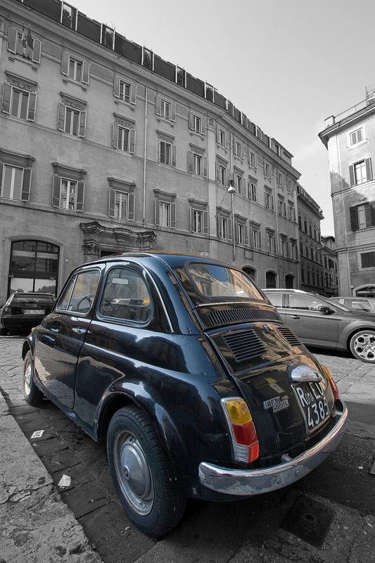 Rome<br>Classic Fiat 500